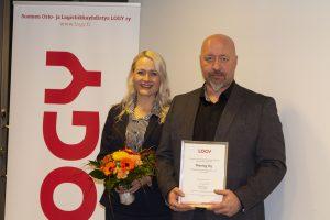 LOGY – Sisälogistiikan innovaatiopalkinto Maslogille!