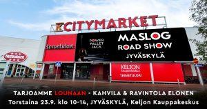 Maslog Road Show starttaa syksyllä!