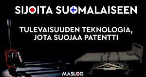 Maslog Oy:n osakeanti – Tulevaisuuden teknologia, jota suojaa patentti